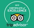 Certificate of Excellence 2019 TripAdvisor